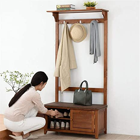 Amazon.com: Quisilife Vintage Hat and Coat Stand Hallway ...