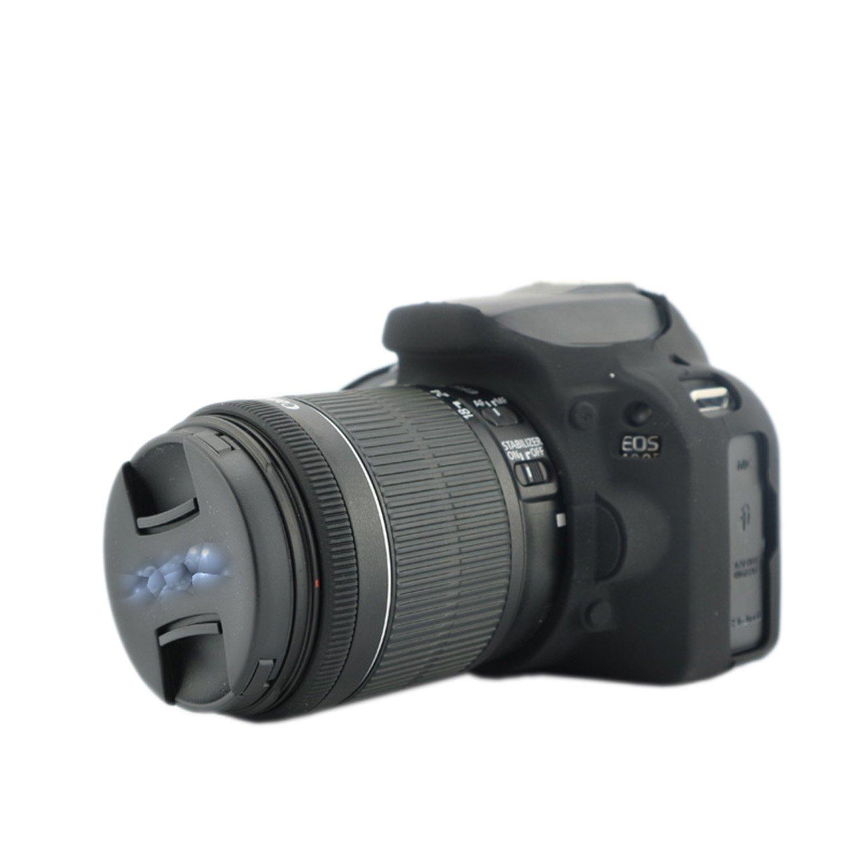 100d Corea estilo silicona funda para cámara Canon EOS 100d cámara ...