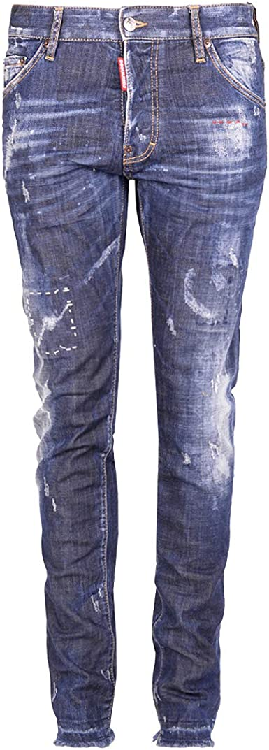 Dsquared2 Cool Guy S74lb0105 S30342 470 Mens Jeans Amazon Es Ropa Y Accesorios
