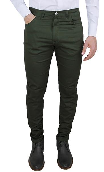 Cristiano Militare Pantaloni Verde Jeans Estivo Uomo Battistini nOPk0w8