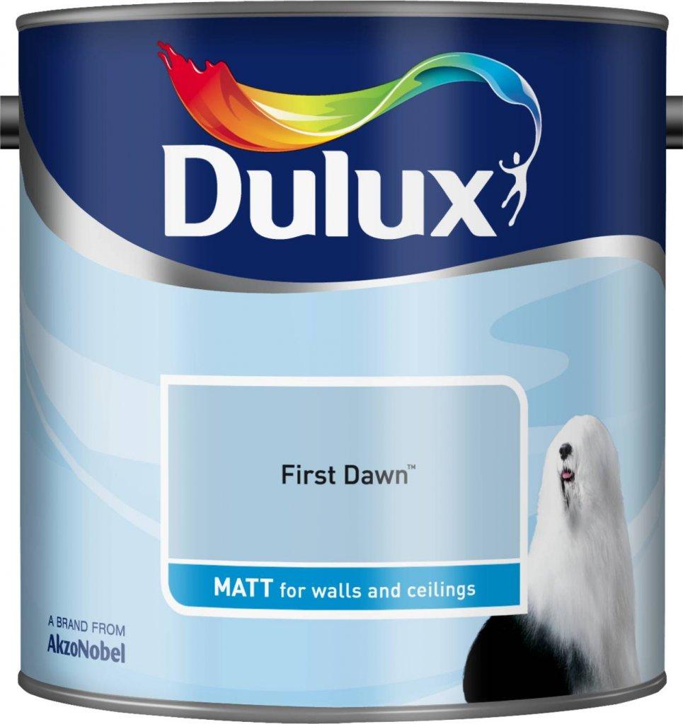 Dulux 500006 Du Matt Paint, 2.5 L - Natural Slate AkzoNobel