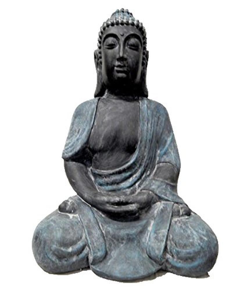 Tinas Collection Collection Collection Buddha Statue wetterfest, 91,5 cm groß edee2d