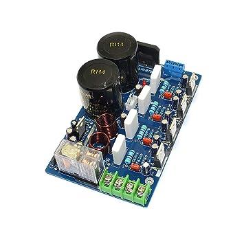 Q-BAIHE DIY Kits LM1875 Doble Salida Paralelo Fiebre HiFi Amplificador de Potencia Junta Kits