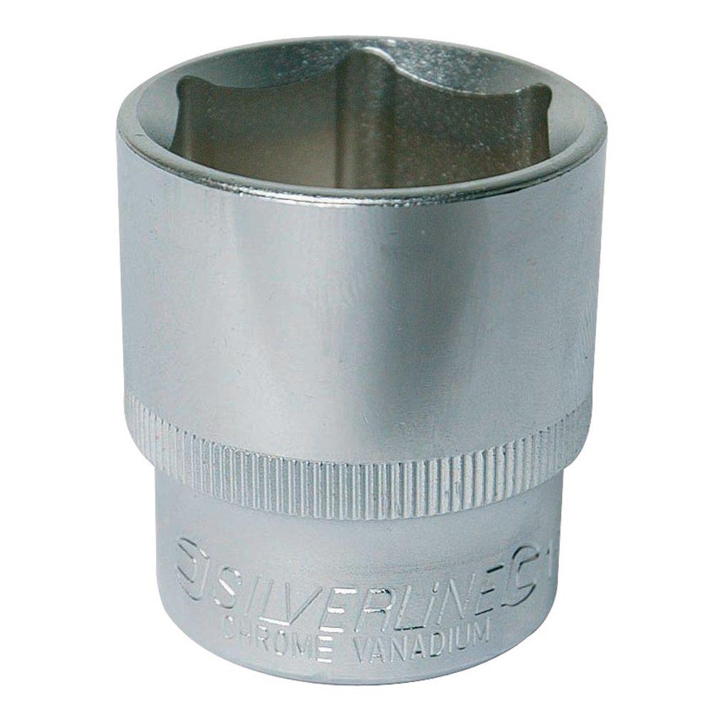 Silverline 733232 Douille impé riale 1/2' 1 -3/16'