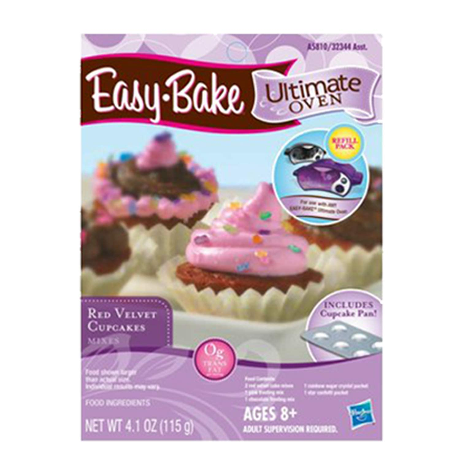 Chocolate Chip and Pink Sugar Refill Red Velvet Cupcakes Refill FIVE DEALS Easy Bake Oven Star Edition Party Pretzel Refill Pack Mini Whisk.