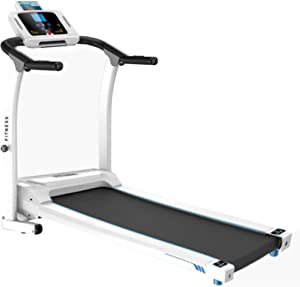 Treadmills for Home 2.0HP Folding Electric Treadmills, LCD Display, Easy Assembly, Walking Jogging Machine for Home/Office Use, Low Noise 400 lbs Weight Capacity, Ship from US (Black)