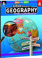 180 Days of Social Studies: Grade 4 - Daily Geography Workbook for Classroom and Home, Cool and Fun Practice, Elementary School Level Activities ... to Build Skills (180 Days of Practice)