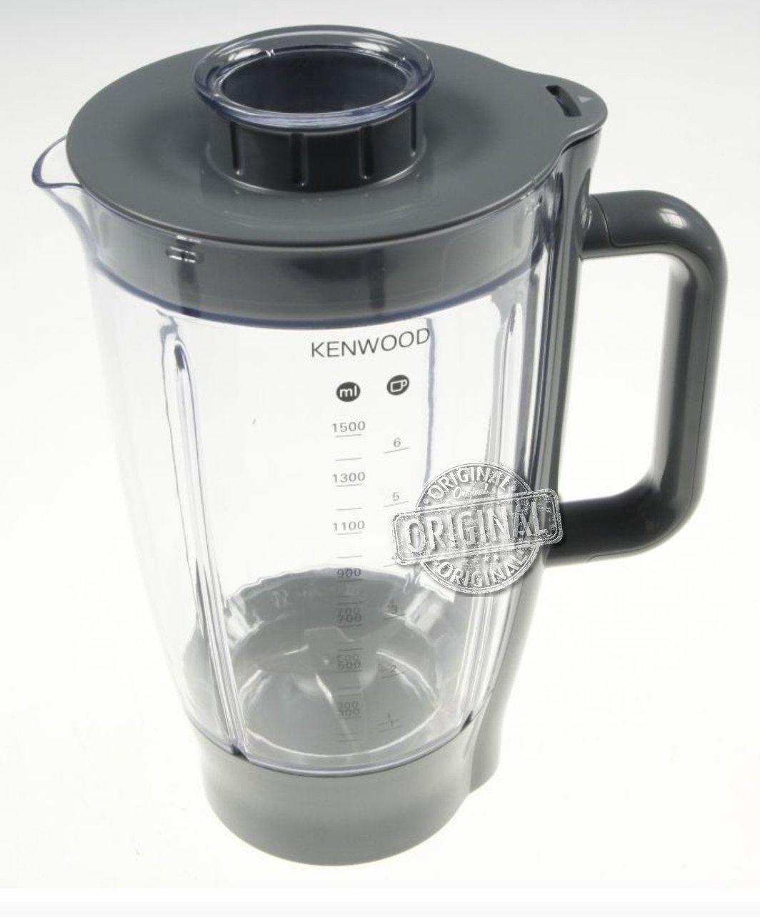 Frullatore Completo in Acrilico 1,5 LT. Originale Kenwood per Kitchen Machine Prospero KM280, KM282, KM283, KM285, KM286, KM287, KM288, KM289 CAREservice