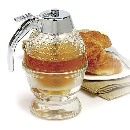 Plan px 1 taza disparador de Abeja colmena miel jarabe dispensador de bote tarro de acrílico