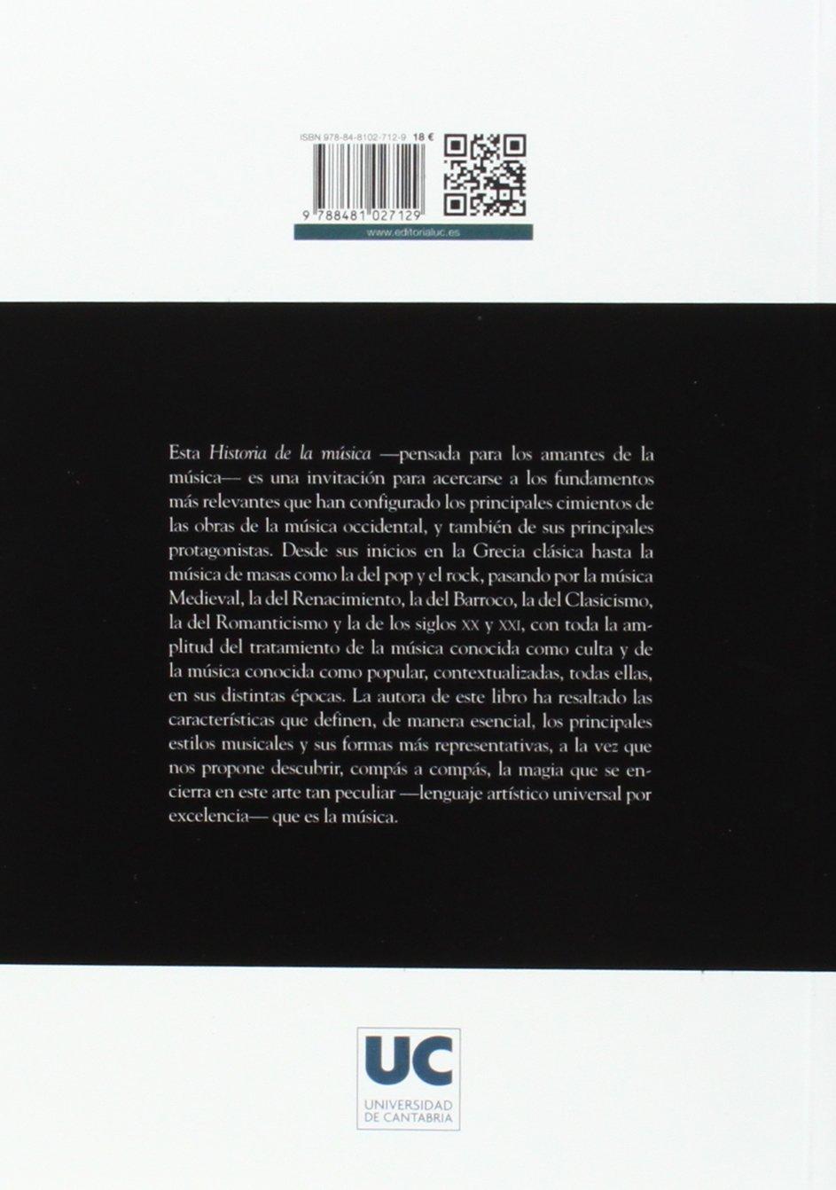 Historia de la música (3ª ed. Revisada y ampliada): Amazon.es ...