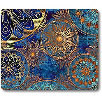 very thin color design 11.6 x 9.7 inches BESLIF mouse pad soft microfiber material non slip cleaner function light portable