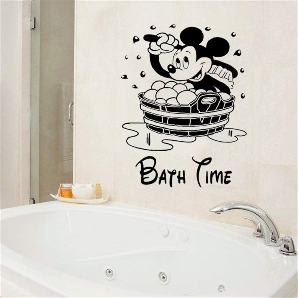 Bathroom Wall Decor Words Bathroom Decals Bathroom Wall Etsy Bathroom Wall Stickers Bathroom Wall Decals Wall Sticker Design