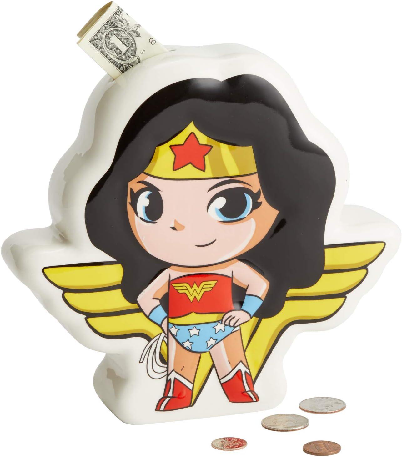 Enesco DC Comics Super friends Wonder Woman Coin Bank