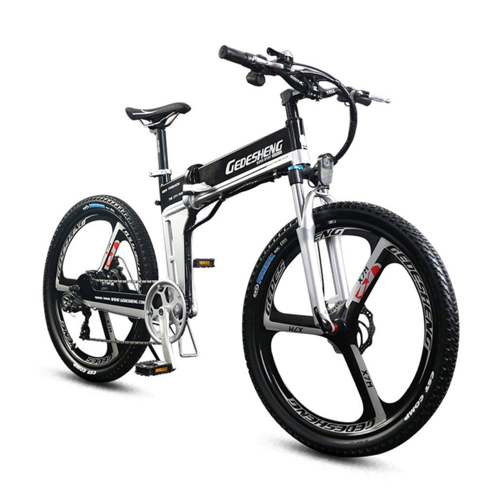 GTYW Bicicleta Plegable Eléctrica Bicicleta De Montaña Para Adultos - 26 \