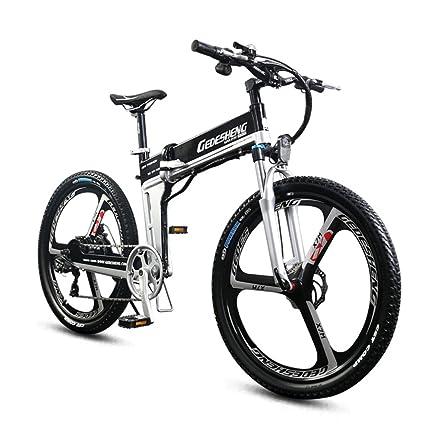"""GTYW Bicicleta Plegable Eléctrica Bicicleta De Montaña Para Adultos - 26 \""""-90"""