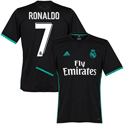 best service 3cc26 d8aa2 Amazon.com : adidas Real Madrid Away KIDS Ronaldo Jersey ...