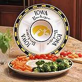 Iowa Ceramic Chip and Dip Plate