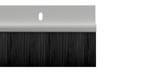 STORMGUARD 02SR0200914W- Sello del cepillo inferior de la puerta, Blanco, 914mm