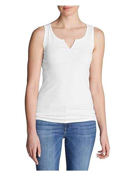 9f76a864450cbc Amazon.com  Eddie Bauer Women s Favorite Notched-Neck Tank Top  Clothing