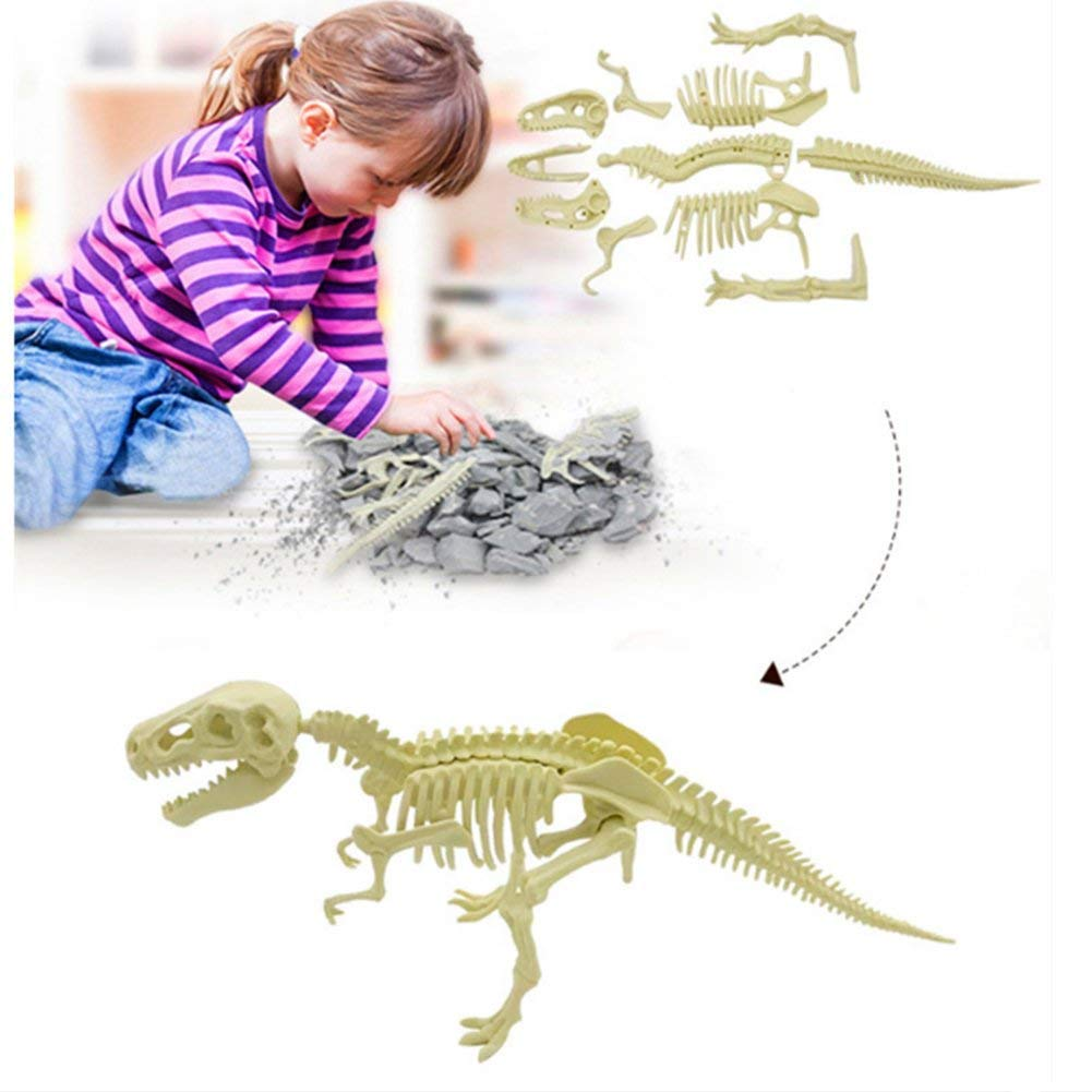 Juegos did/ácticos arqueol/ógicos de Dinosaurios encontrados Juguetes para ni/ños Trifycore F/ósiles de Dinosaurios Parasaurolophus
