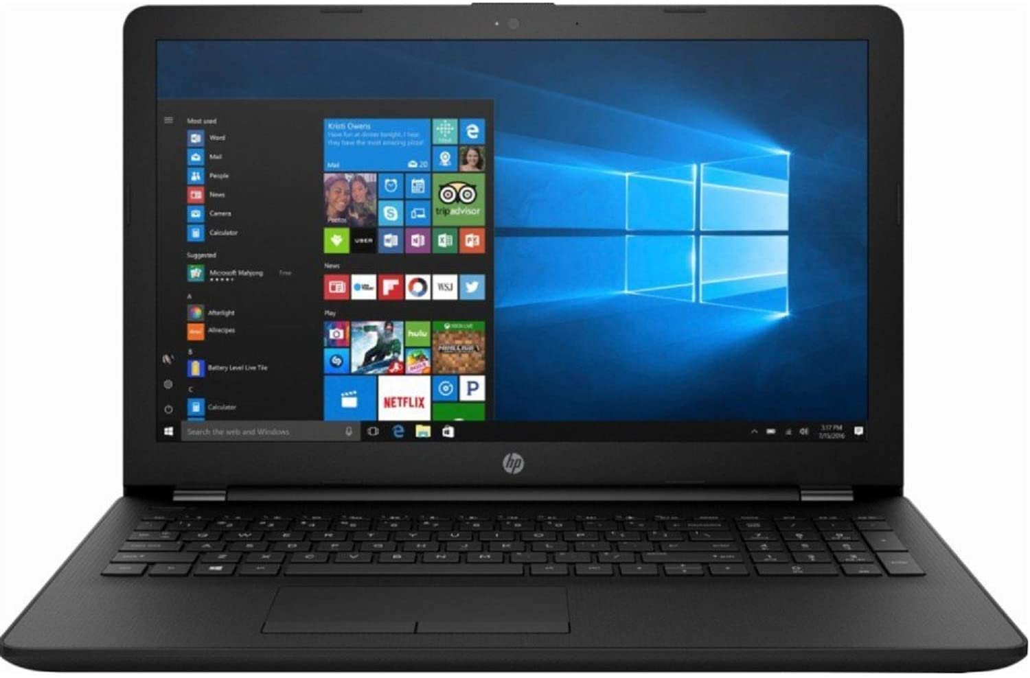 "HP 15.6"" HD LED Backlight Premium Laptop 