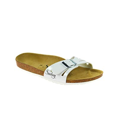 White Fashionmode Sunbay Taille Freezia Blanc 35 54A3jRLq