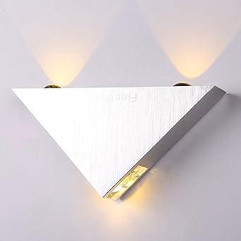 Finether 3W LED Wandleuchte Wandlampe Wandfluter Flurlampe mit 2 ...