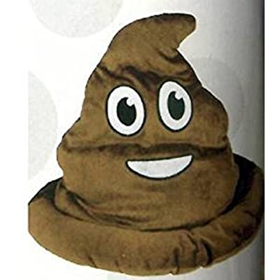 Fake Emoji Poop Hat: Toys & Games