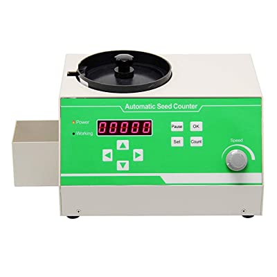 CGOLDENWALL Automatic Seeds Counter Machine for Various Shapes Seeds counting rice, wheat, rape seed, vegetables, flowers, soybeans, corn,bean,sunflower seeds and other seeds: Home Improvement