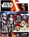 Star Wars: The Force Awakens, Epic Battles, Captain Phasma Exclusive Action Figure Set, 3.75 Inches