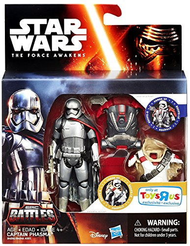 Star Wars: The Force Awakens, Epic Battles, Captain Phasma E