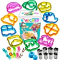 Sandwich Cutters For Kids Great For Toddler Lunch Box And Containers Bento Box Accessories And Uncrustable Sealer For Boys And Girls Kids Lunch Includes Food Picks Vegetable And Fruit Cutter