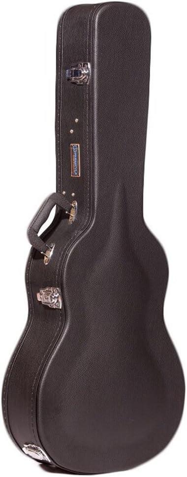 Freestyle Case Co - Funda rígida de madera para guitarras acústicas de tamaño 3/4: Amazon.es: Instrumentos musicales