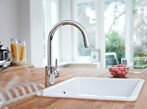 grohe concetto ohm metal sink mixer chrome online at low
