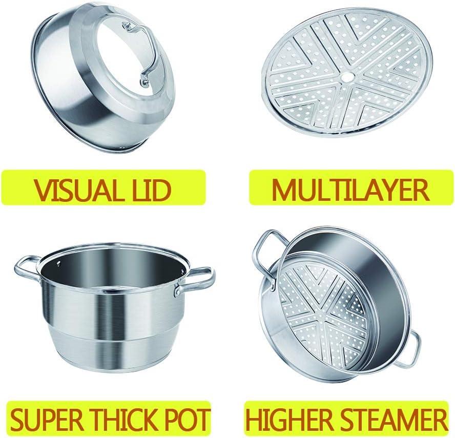 3 tier stainless steel steamer