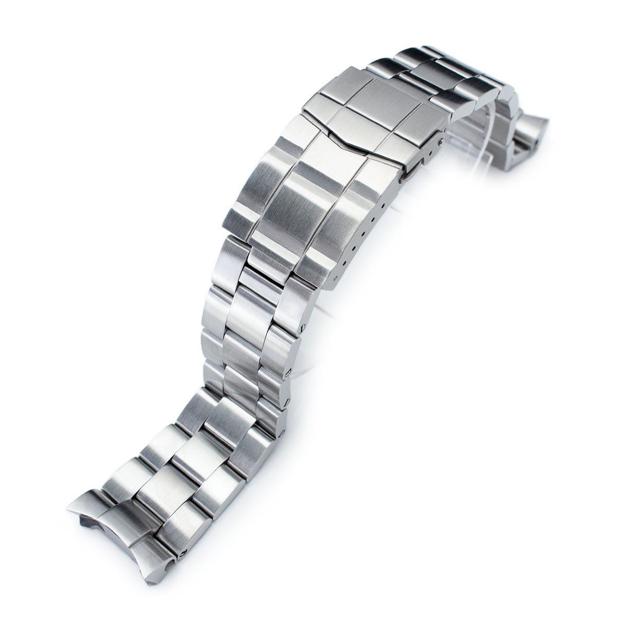 22mm Super 3D Oyster watch band for SEIKO Diver SKX007/009/011, Solid Submariner Clasp
