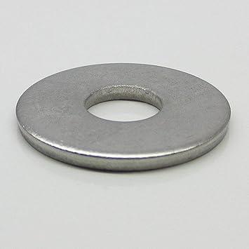 150 St Unterlegscheiben verz 6 x 18 mm DIN 9021 NEU