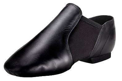 Black Jazz Shoes for Women/Big Kid Slip On 4M US