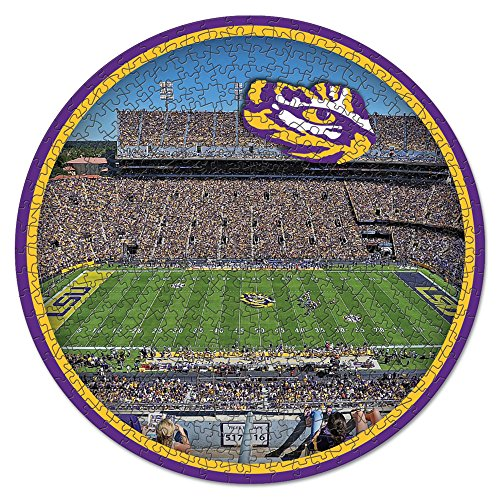 NCAA LSU Tigers Stadium Puzzle 500-Piece ()