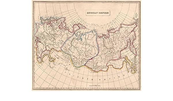 Amazon Com Russian Empire In Europe Siberia Tobolsk Irkoutsk