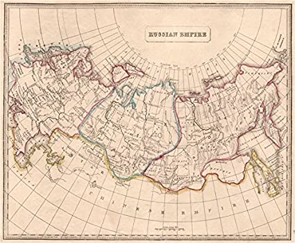 Amazon.com: RUSSIAN EMPIRE. In Europe. Siberia. Tobolsk ...