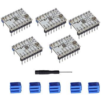 Amazon.com: YOTINO TMC2208 V1.2 Módulo controlador de motor ...