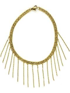 Vanessa Mooney Jane Choker in Metallic Gold