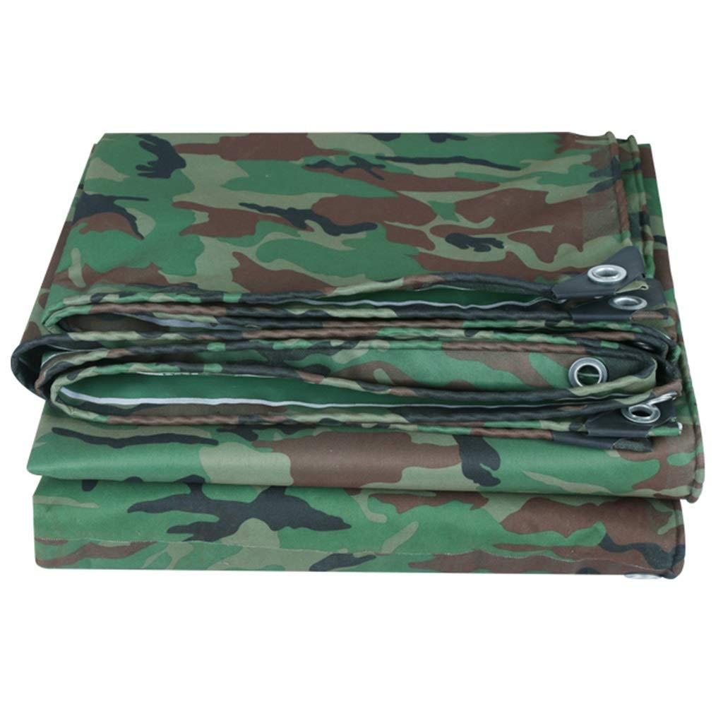 WXQIANG Camo Lona Impermeable Heavy Duty Ojales de PVC Lona ...