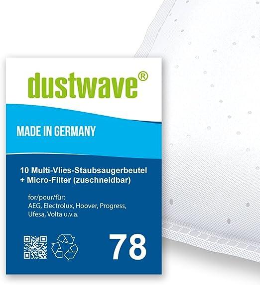Pack de ahorro – 10 bolsas para aspiradoras Volta – U 4203 Contour – Aspiradora de dustwave® Marca Bolsa para el polvo Fabricado en Alemania + Incluye Micro de filtro: Amazon.es: Hogar