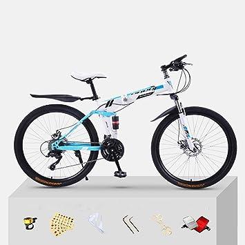 XWDQ Bicicleta De Montaña Bicicleta para Adultos Plegado 20/24/26 ...