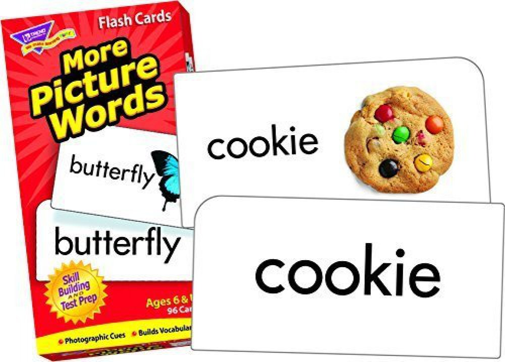 picture words more picture words skill drill flash
