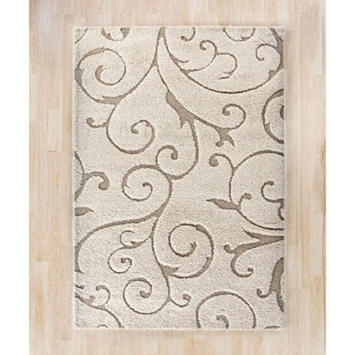 "Alcott Hill Henderson Rug, Contemporary Rug, Size - 5'3"" X 7'6"""