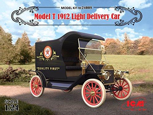 PLASTIC MODEL BUILDINGT 1912 LIGHT DELIVERY CAR