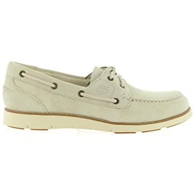 Chaussures bateau pour Femme TIMBERLAND A1GD4 LAKEVILLE RAINY DAY